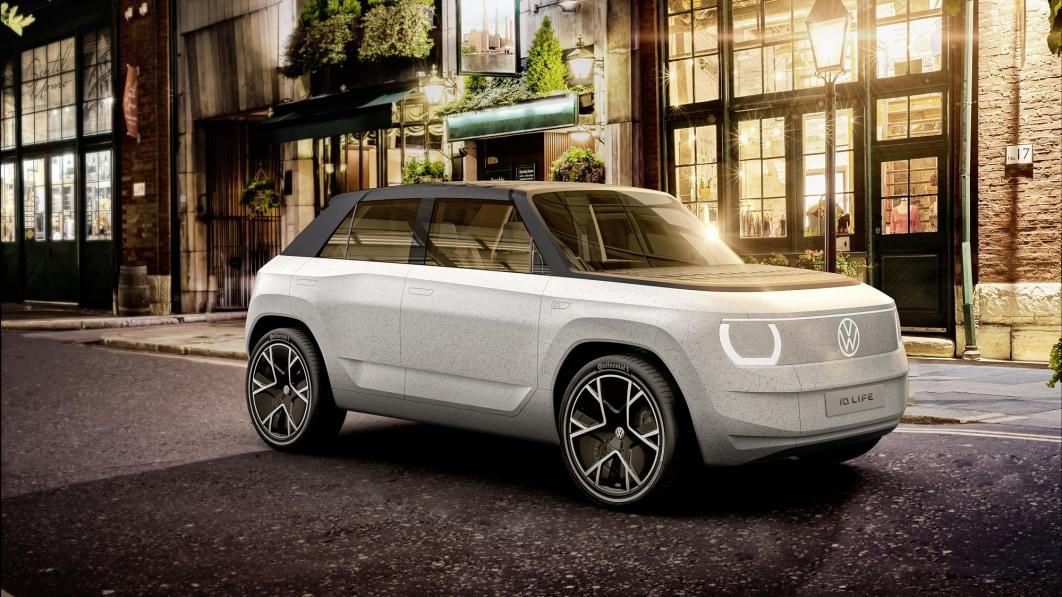 Volkswagen ID.Life gibt einen Ausblick auf die hochfahrende EV-Zukunft des Stadtautos€