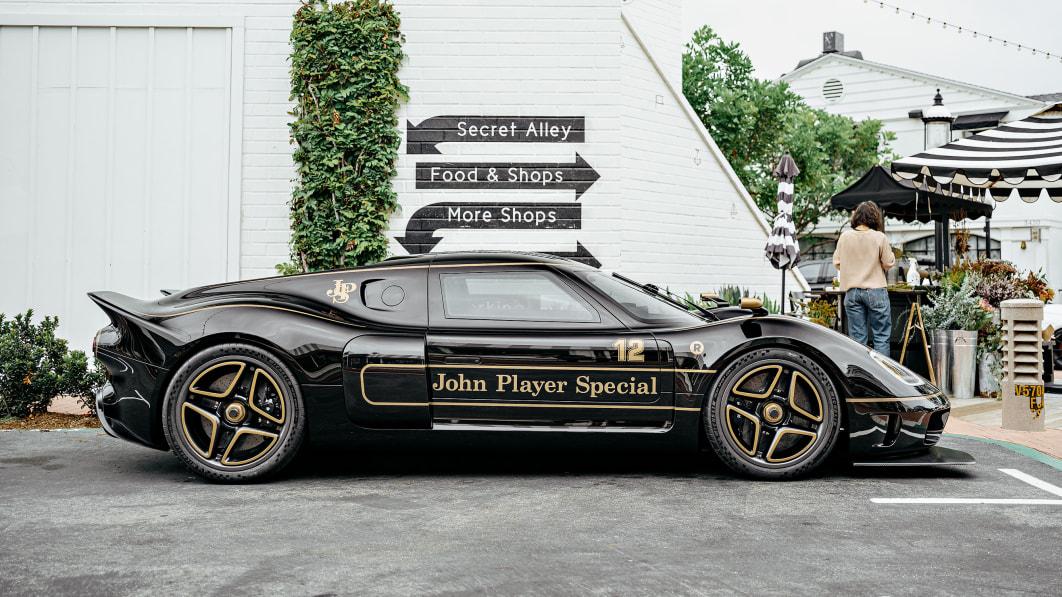 Der Radford Typ 62-2 John Player Special bringt den Sportwagen in Kutschenbauweise noch weiter nach oben€