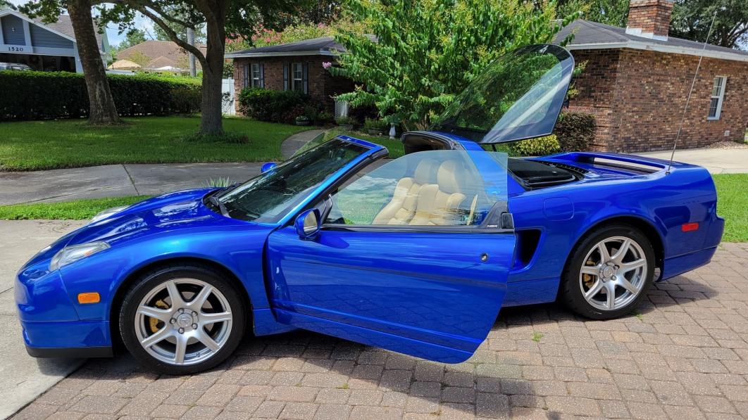 2003 Acura NSX-T in Long Beach Blue bei Cars & Bids ist ein NSX für den Rest von uns€