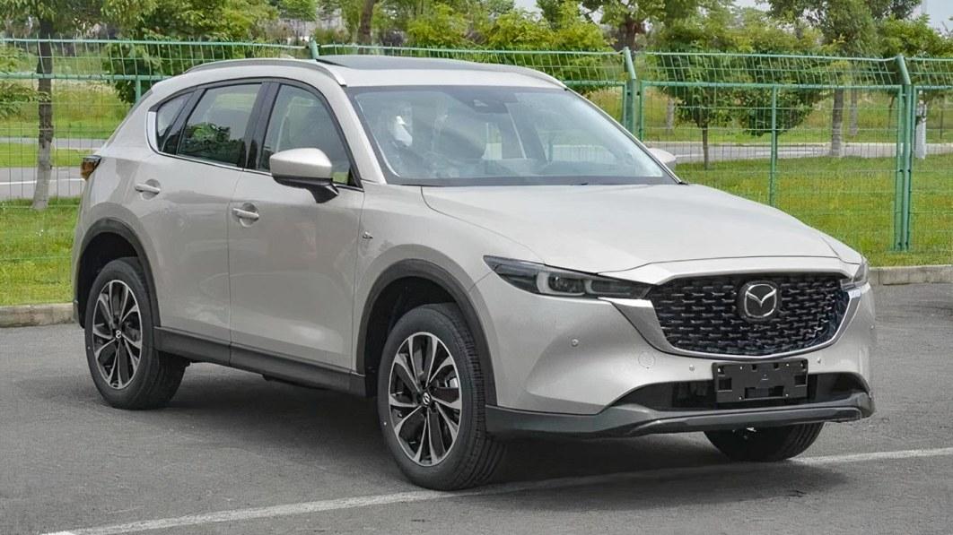Aufgefrischter Mazda CX-5 für 2022 in China geleakt€
