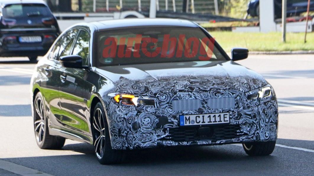 Spionagefotos eines möglichen BMW 3er-Updates in der Mitte des Zyklus aufgetaucht€
