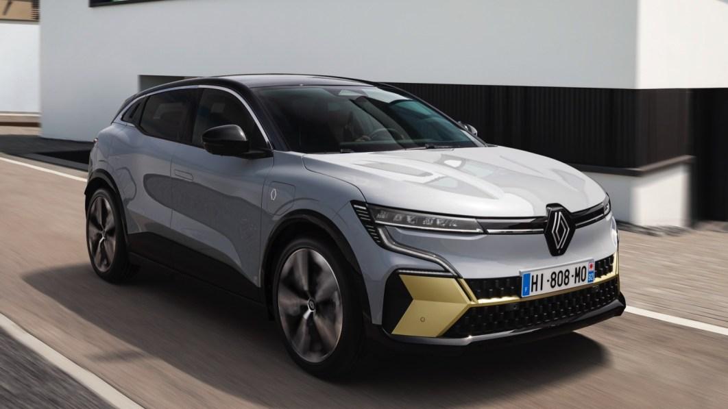 Renault Megane E-Tech Electric könnte Rettungskräfte nach Unfällen unterstützen€