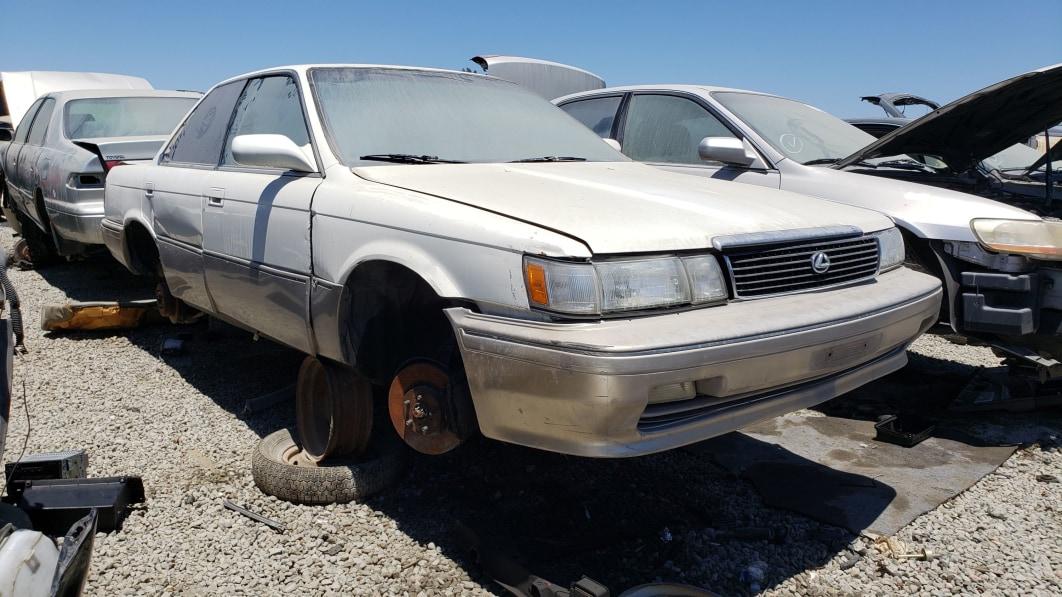 Junkyard Gem: 1991 Lexus ES 250