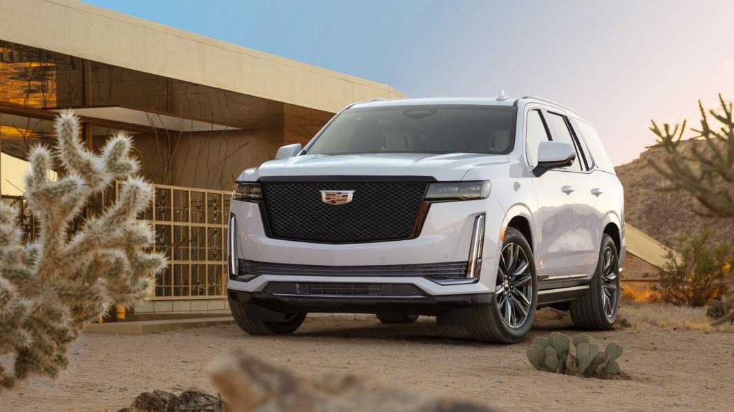 2022 Cadillac Escalade macht kleine Änderungen im gesamten Lineup€