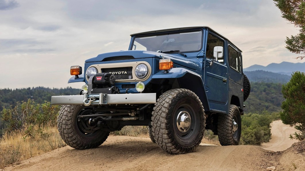 The Toyota FJ40 is an off-road icon, and you can win one here