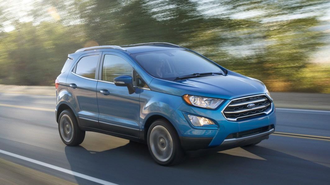 2022 Ford EcoSport macht optionalen 2,0-Liter-Motor zum Standard€