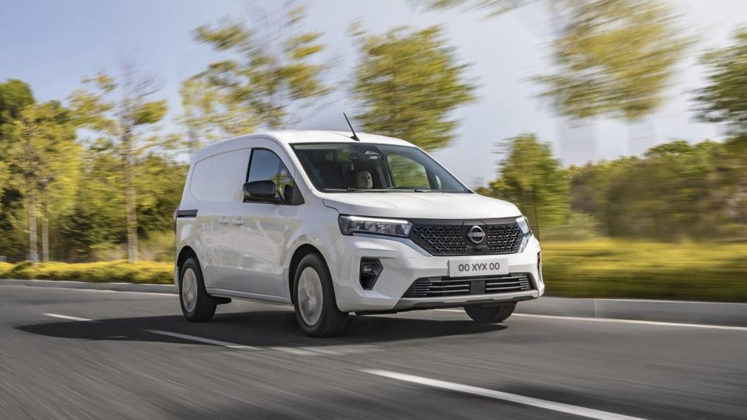Nissan Townstar fügt eine weitere neue elektrische Nutzfahrzeugoption hinzu€