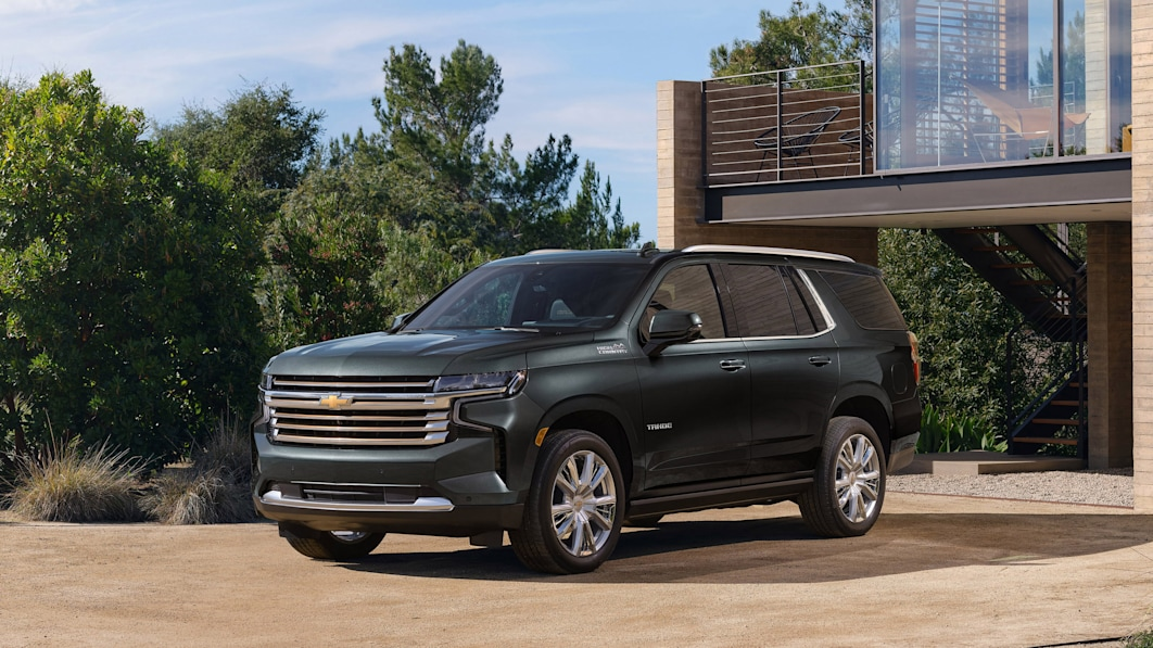 2022 Chevy Tahoe and Suburban add a few more treats