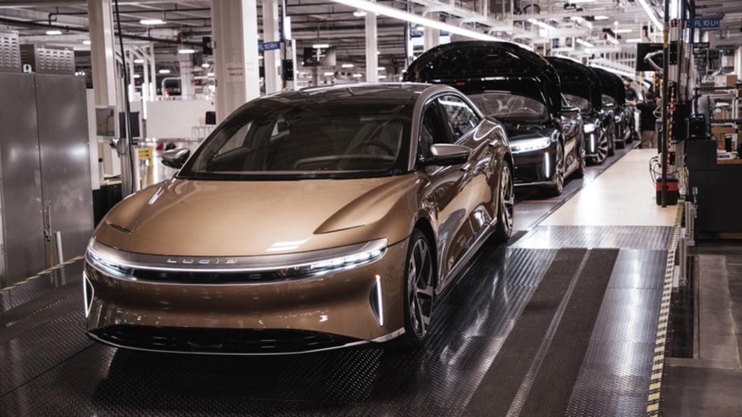 Produktionsstart von Lucid Air, mit einer Reichweite, die die von Tesla übertrifft€