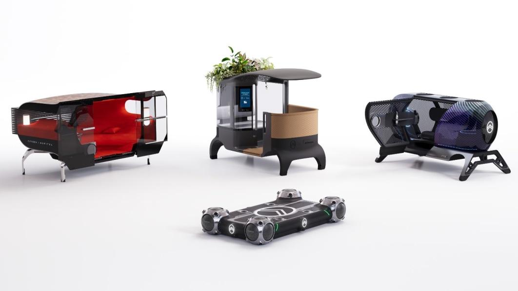 Das Mobilitätskonzept von Citroen lässt andere Unternehmen Ihre Kabine gestalten€