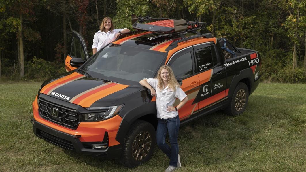 Honda-Ingenieure nehmen die Rebelle-Rallye in einer Ridgeline in Angriff€