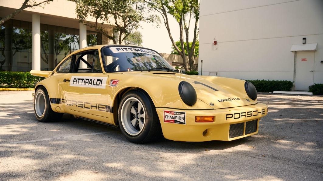 Pablo Escobars 1974er Porsche 911 RSR Rennwagen wird versteigert€
