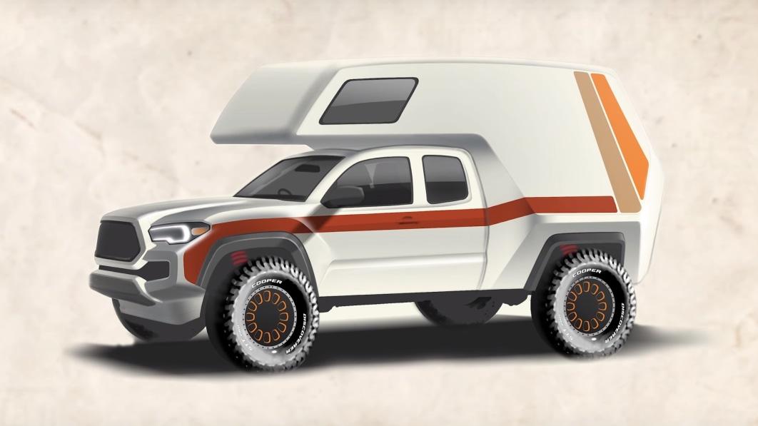 Toyota is building a Tacoma 'Tacozilla' camper for SEMA