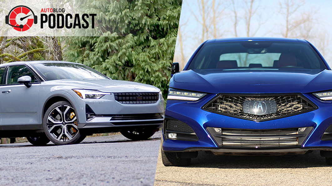 2021 Acura TLX A-Spec vs. Type S, Polestar 2 and Genesis G70  | Autoblog Podcast #700