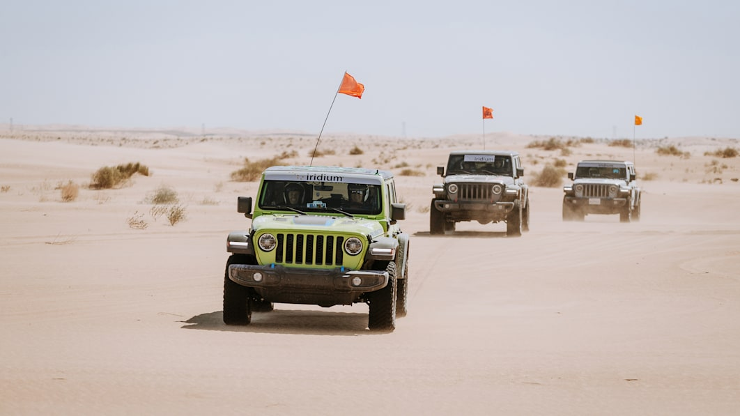Jeep sweeps Rebelle Rally podium and pockets first-time electrified finish