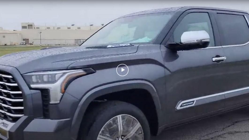 Toyota Tundra Capstone peak luxury trim in the works?