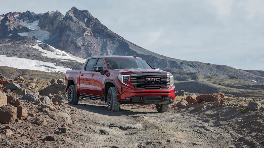 Where the 2023 GMC Sierra AT4X fits into the hierarchy of off-road trucks