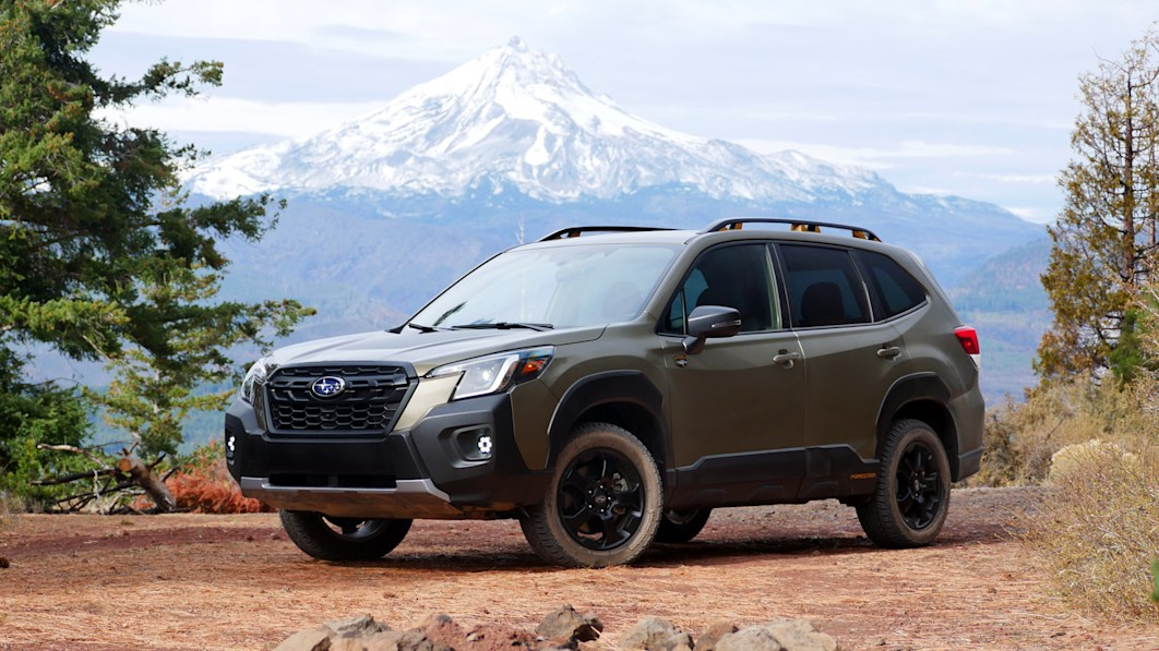 2022 Subaru Forester Wilderness First Drive Review | Take a hike