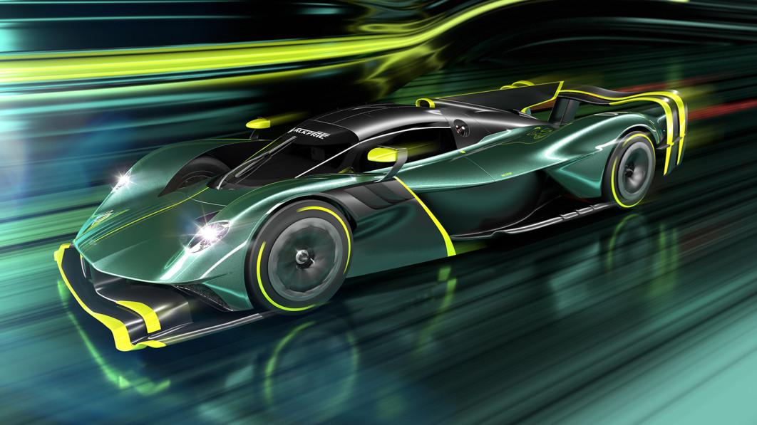 Aston Martin Valkyrie AMR Pro production car revealed