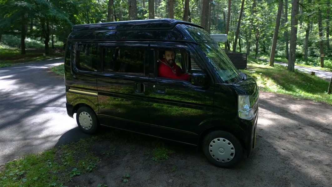 Kei van campers are miracles of space utilization