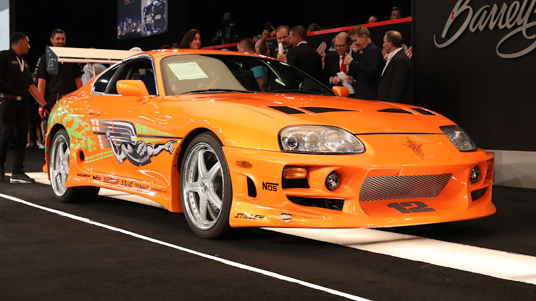 Toyota Supra from 'The Fast and the Furious' sells for over $500,000