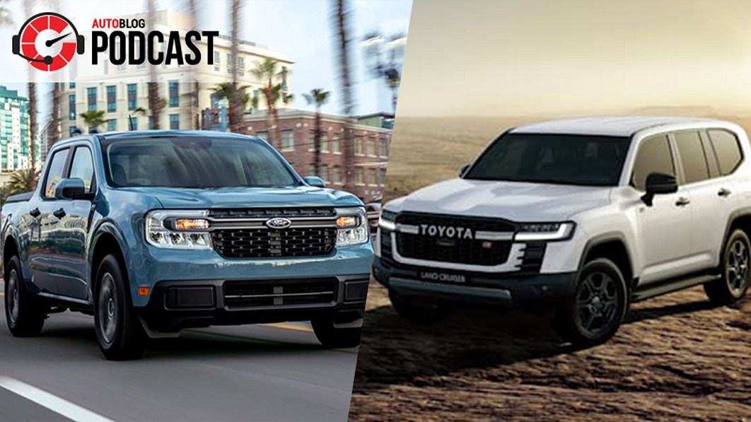 2022 Ford Maverick is here, plus the next Toyota Land Cruiser | Autoblog Podcast #682