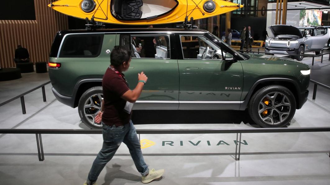 Rivian raises $2.5 billion led by Amazon, Ford