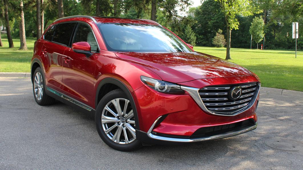 2021 Mazda CX-9 Signature Innenraumbewertung