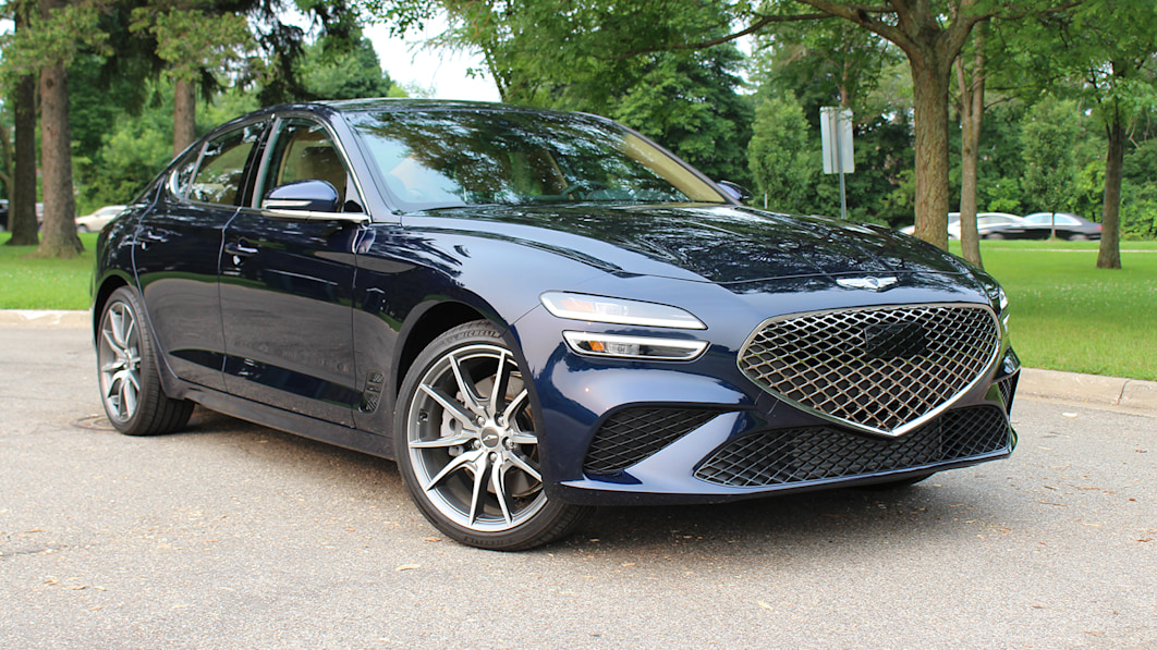 2022 Genesis G70 3.3T First Drive   If it's not broken, just restyle it