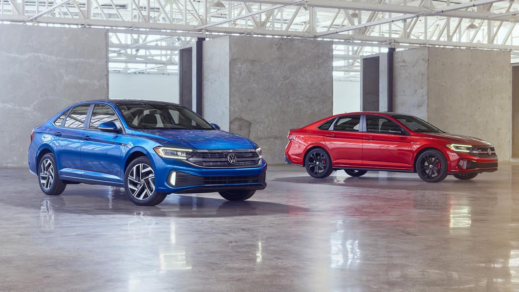 2022 VW Jetta und GLI erhalten ein neues Design, eine neue Ausstattung und haben weiterhin Schaltgetriebe