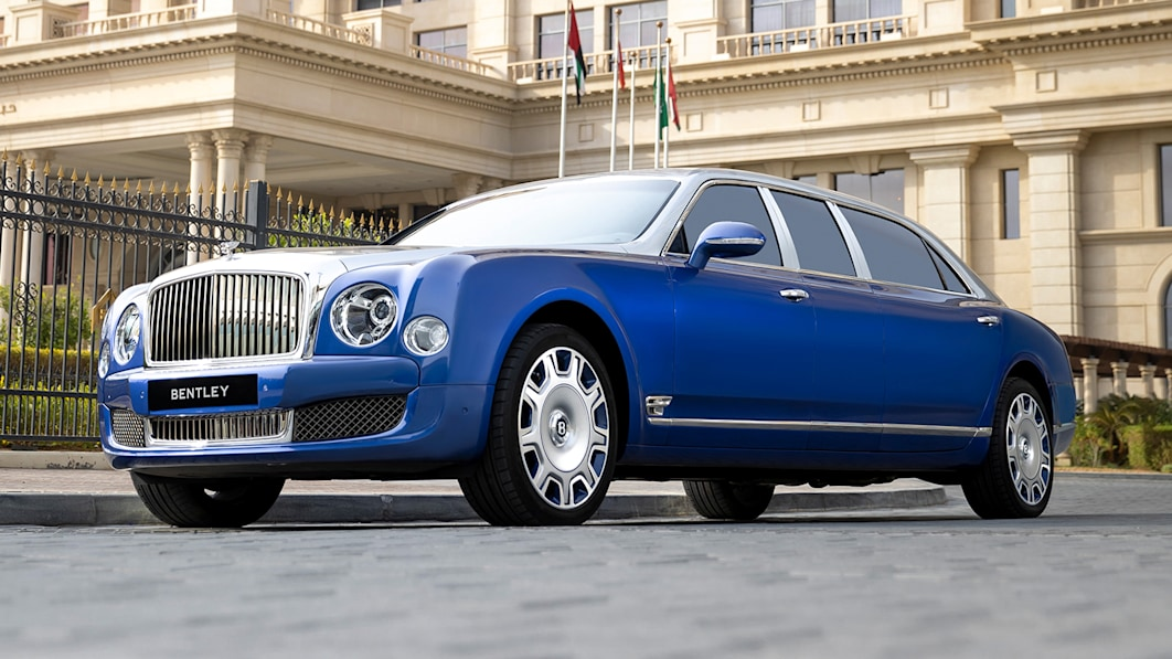 Unused, unregistered Bentley Mulsanne Grand Limousines for sale