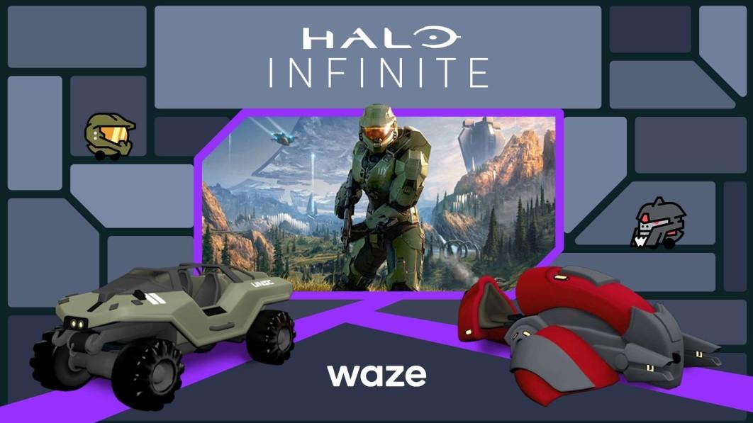 """Halo""""-Protagonist Master Chief kann Ihnen über Waze eine Wegbeschreibung geben"""