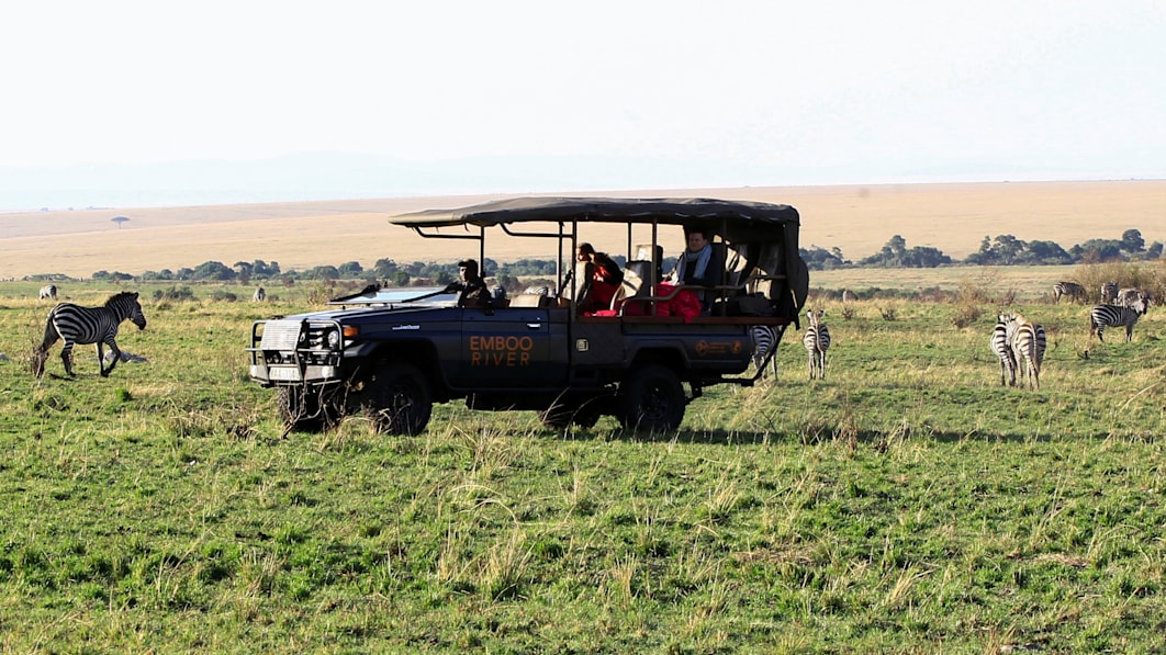 EV-Safaris versprechen sauberere, leisere Wildtier-Touren