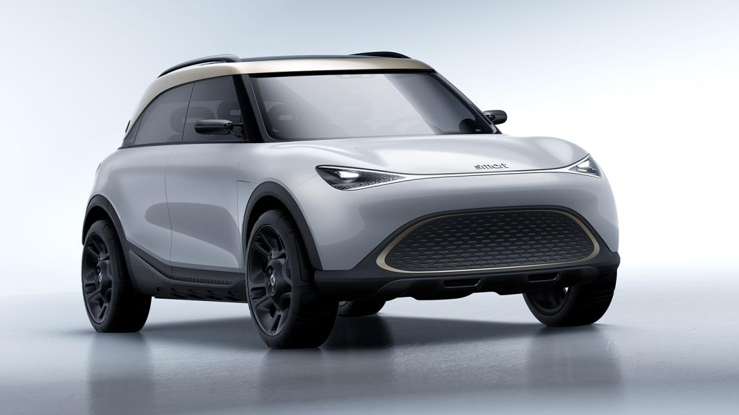 Smart Concept #1 zeigt die elektrische Premium-Crossover-Zukunft der Marke€