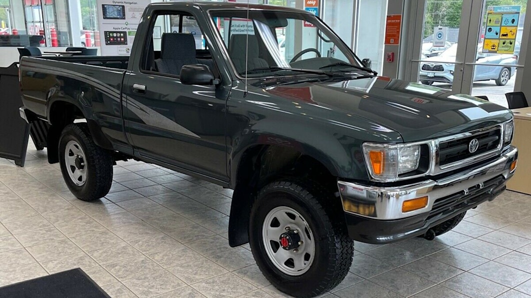 1993 Toyota Truck with just 84 miles sells at auction