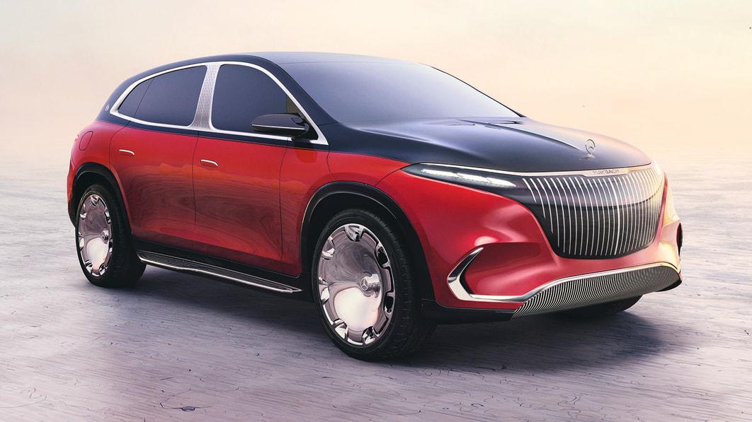 Mercedes-Maybach EQS Concept zeigt SUV-Zukunft der Flaggschiffmarke€