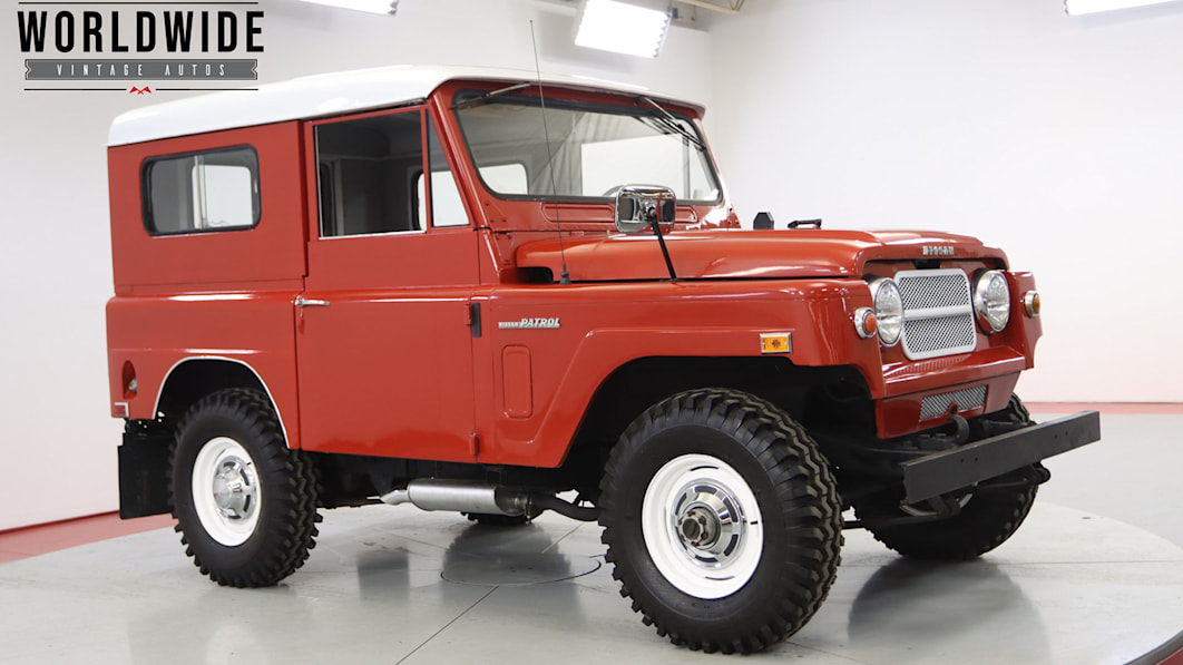 Land Cruisers and Defenders too mainstream or expensive? Try a Patrol