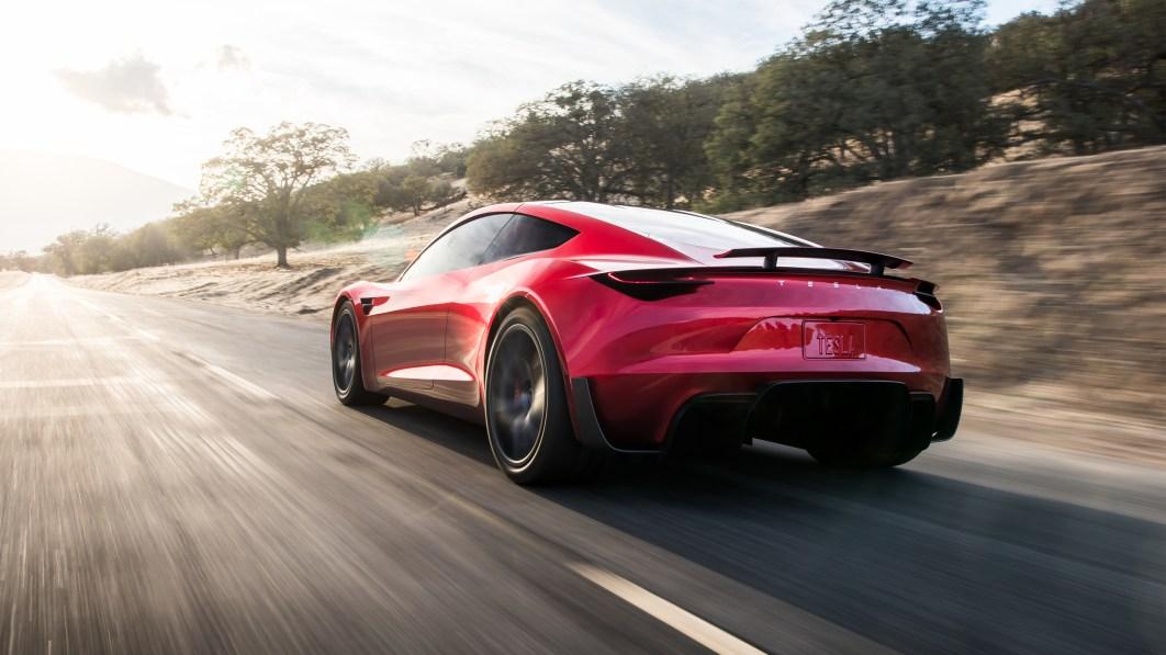 Elon Musk sagt, Tesla Roadster verzögert sich, kommt 2023 ... vielleicht€