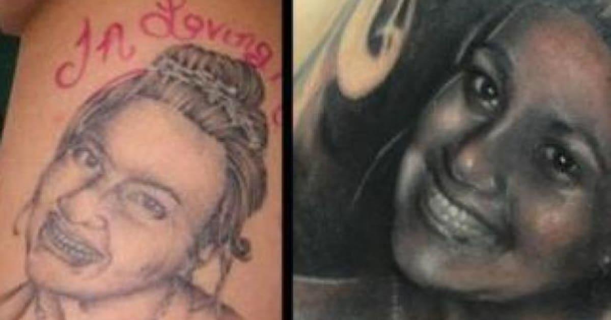 Etats,Unis un artiste transforme un tatouage raté en merveille