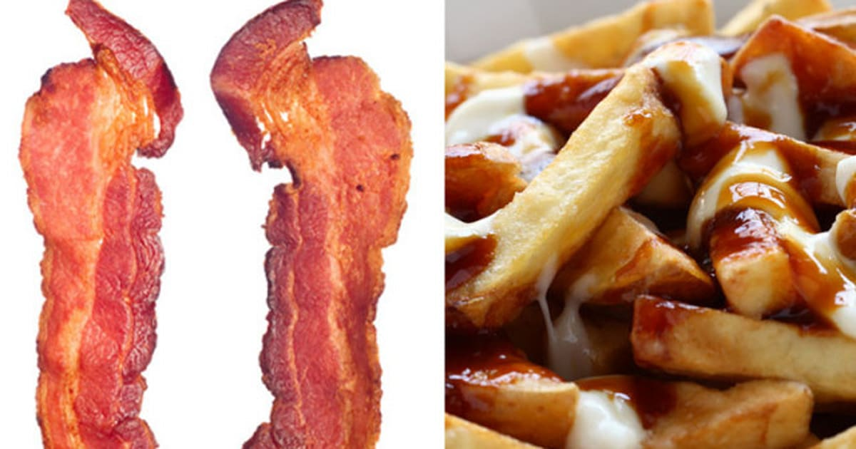 Canadian Food The Most Foods Include Bacon Poutine And Maple Syrup
