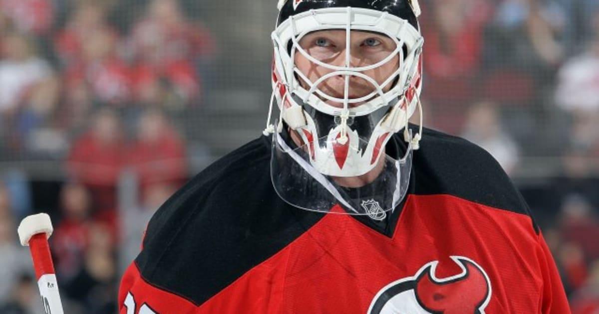 Martin Brodeur Scores Goal: New Jersey Devils Goalie Gets