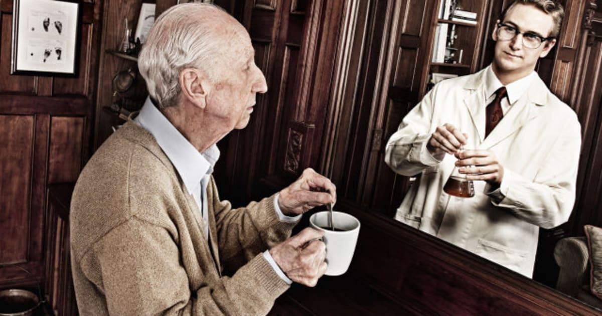 La edad física frente la edad que uno siente: el paso del tiempo, en la serie de Tom Hussey (FOTOS)
