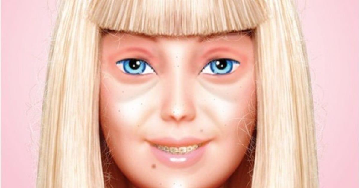PHOTO. Barbie A Oublié De Se Maquiller