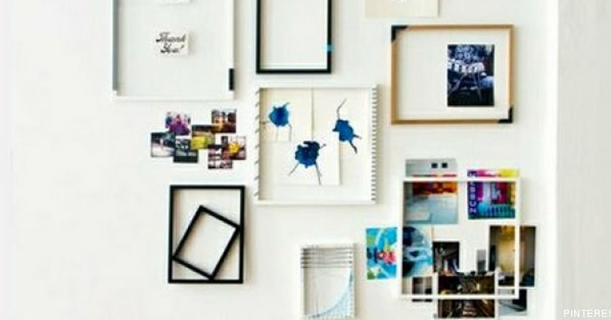 Decorar con cuadros: 33 ideas para enmarcar (FOTOS) | El Huffington Post