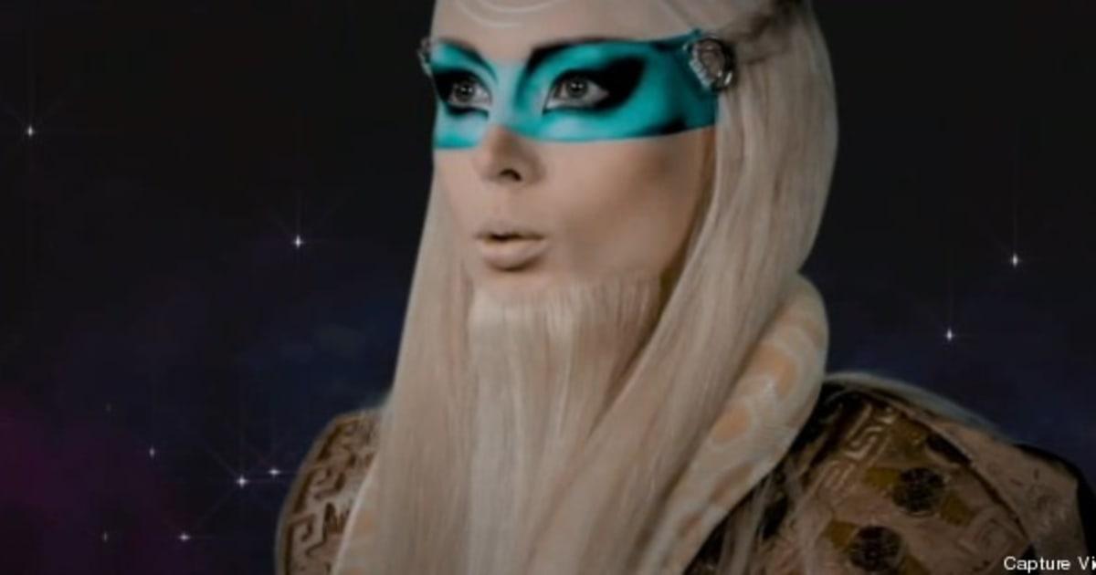 VIDEO. La Barbie Humaine Est Un Gourou Venu De L'espace