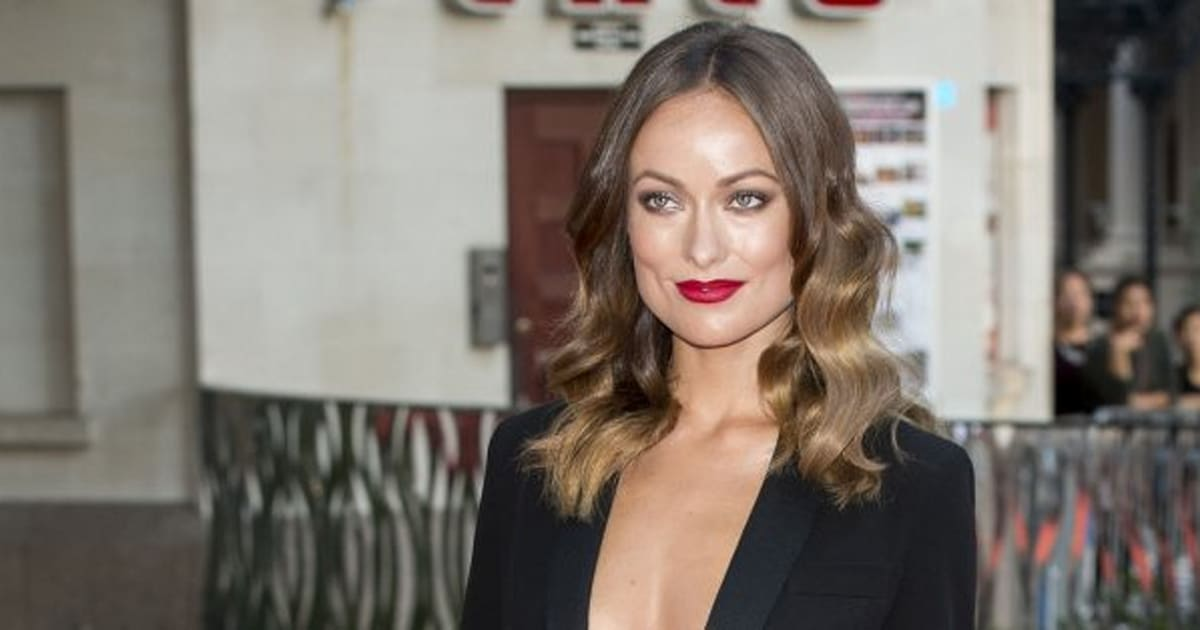 Olivia Wilde Goes Braless In Racy Black Suit For Rush Premiere