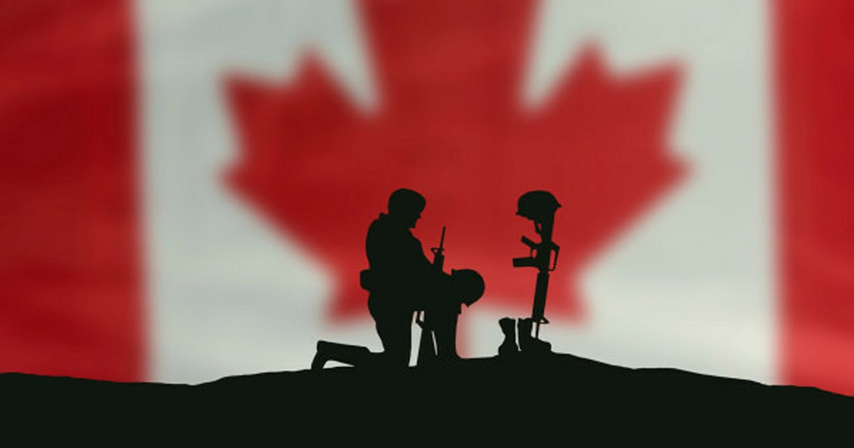 how to get a headstone for a veteran in canada