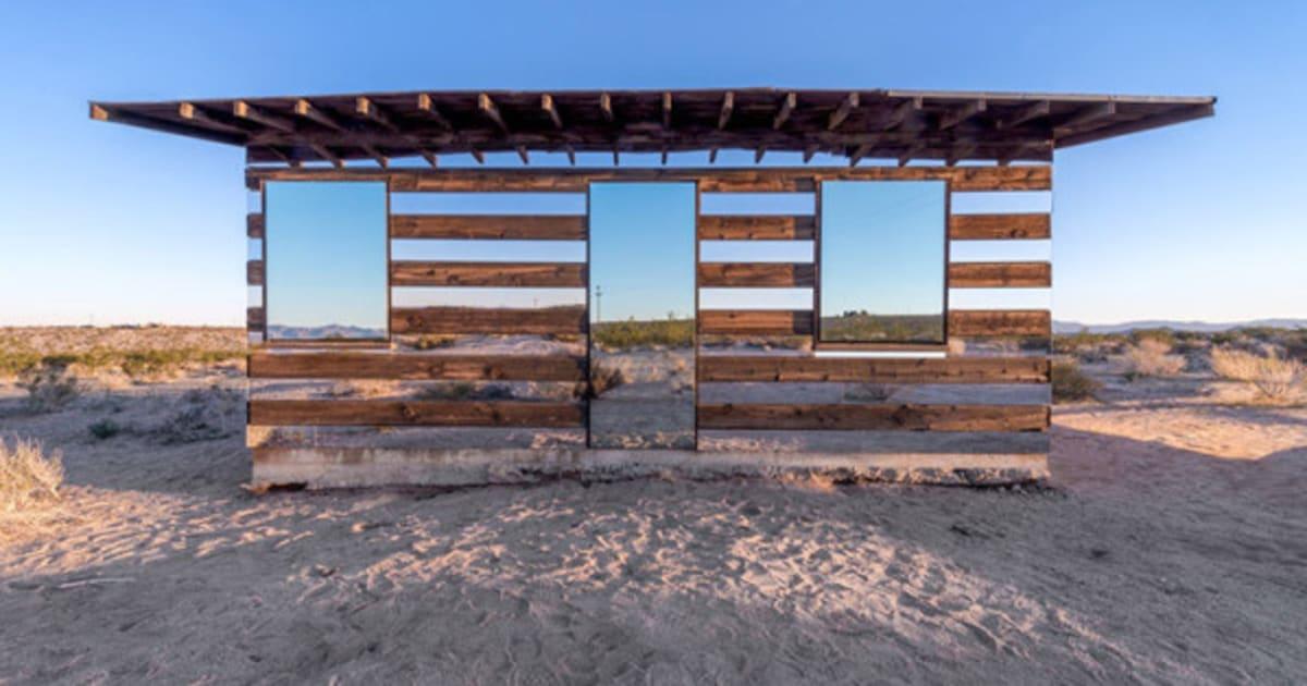 La Maison Du Miroir une maison invisible dans le désert | le huffington post