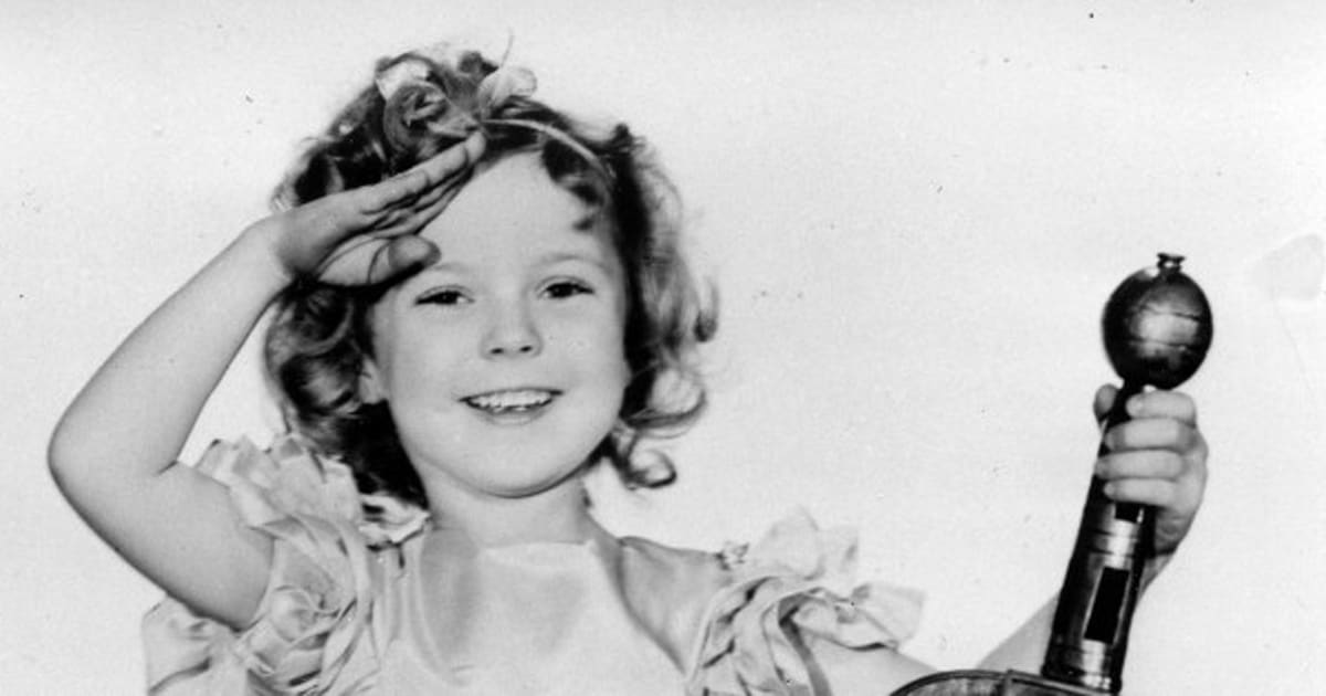 Shirley Temple Knew How To Pull Off Curly Hair Photos