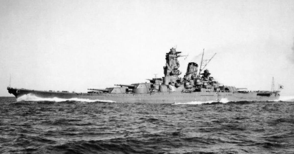 戦艦大和、沈没から69年を迎える...